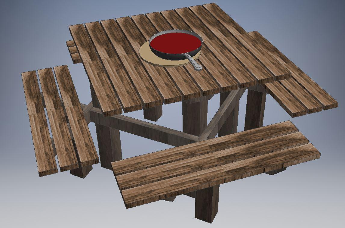 Gartentisch selber bauen, Gartentisch, Tisch, Gartentisch Anleitung