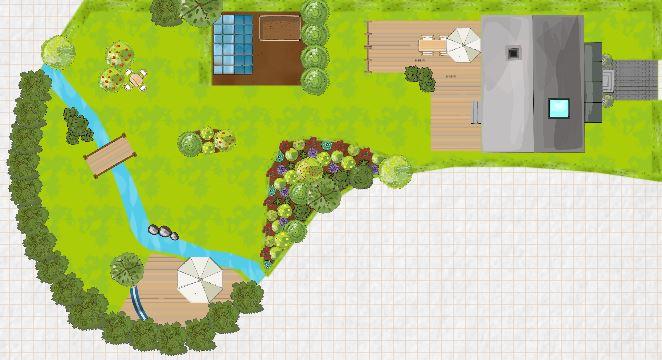 Gardena my garden, Gartenplaner, Landscape, Garten Software, Garten