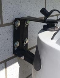 Wand Schlauchbox montieren