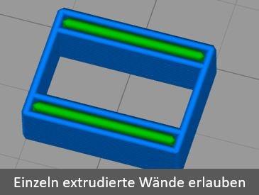 Simplify 3D Innerer dünner Wandmodus