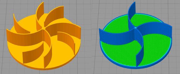 Simplify 3D, Verhalten bei dünnen Wänden