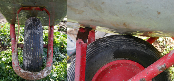 Schubkarre Reifen